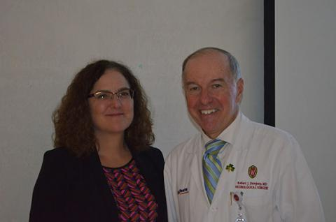 Dr. Louise D. McCullough, MD, PhD and Dr. Robert Dempsey