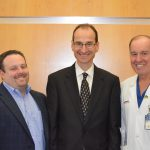 Dr. Medow, Dr. Valadka and Dr. Dempsey
