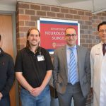 Dr. Sanai, Dr. Kuo and researchers