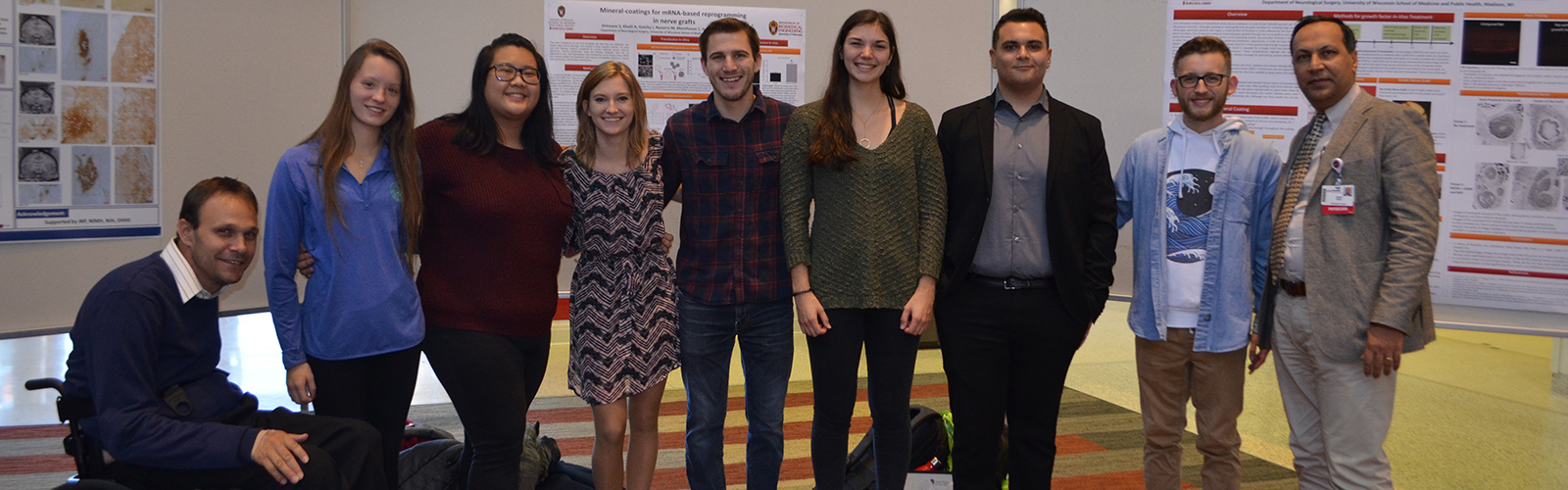 Dr. Hanna Lab members at Research Day 2018
