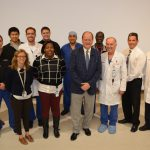 Dr. Thompson, Dr. Dempsey, Dr. Resnick and residents