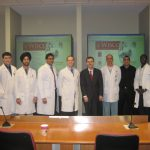 Dr. Friedman, Dr. Baskaya, Dr. Brooks and residents