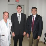 Dr. Dempsey, Dr. Sillay and Dr. Lozano