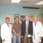 Dr. Adibhatla, Dr. Vemuganti, Dr. Hallenbeck and Dr. Dempsey