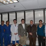 Dr. Warf and residents