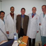 Dr. Dickman and residents