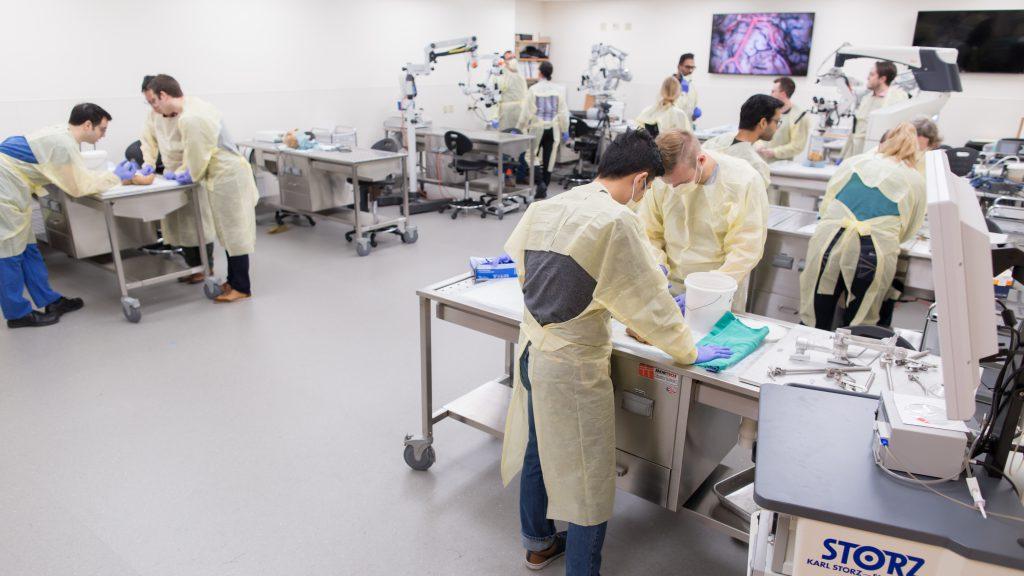 Lincoln F. Ramirez Neurosurgery Operative Skills Laboratory