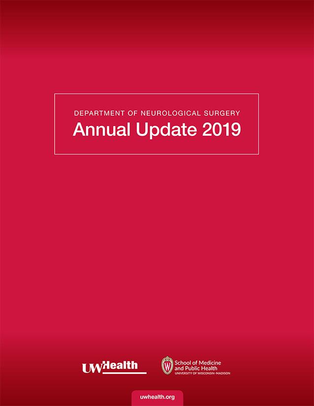 Neurosurgery Update 2019 cover